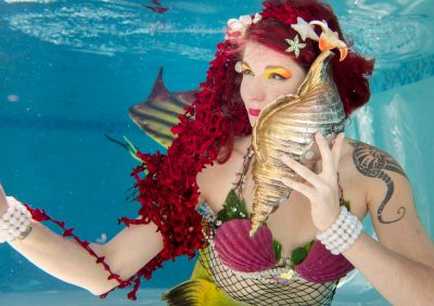 The Mermaid Atlantis - Corporate & Private Events - Underwater TeleComm