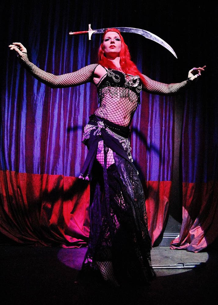 The Mermaid Atlantis - Corporate & Private Events - Sword Belly Dance