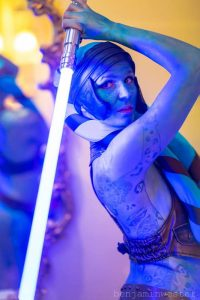 The Mermaid Atlantis - Corporate & Private Events - Star Wars Aayla