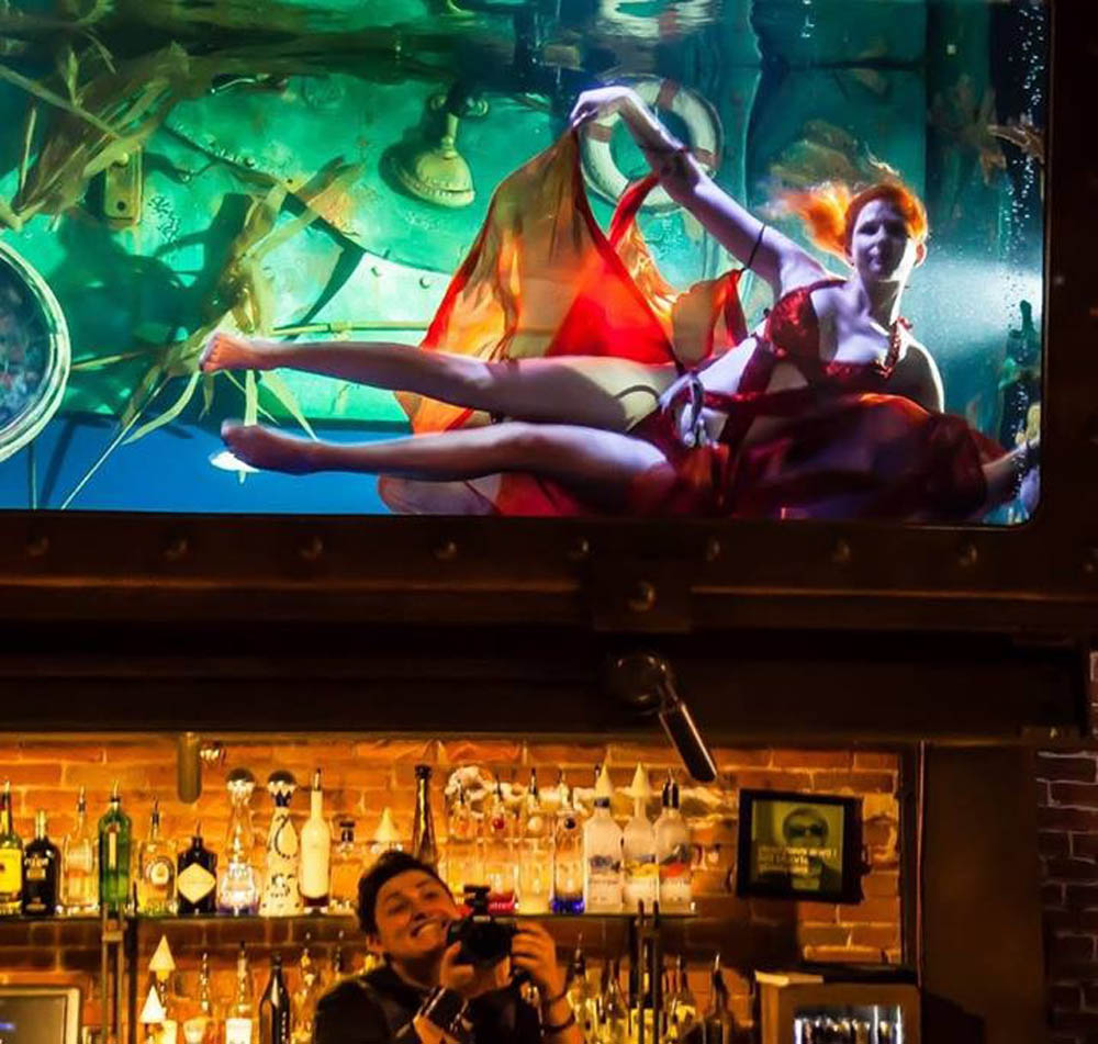The Mermaid Atlantis - Underwater Fashion Show - Photo by Terri Brindisi
